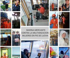Marinos mercantes alistan protestas para evitar militarización de puertos