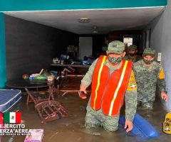 Desplegó Sedena 6,501 efectivos militares ante el embate de Delta