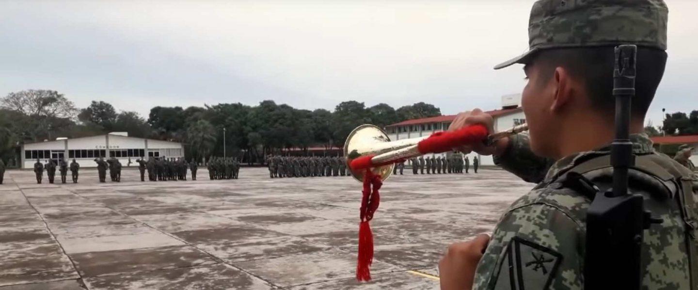 Así es la vida de un soldado mexicano