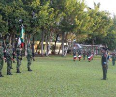 Cambios en la comandancia del 39 Batallón, en Tuxpan